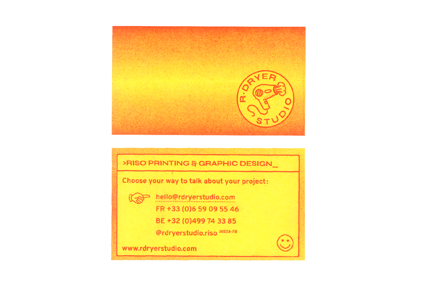 R·DRYER Card